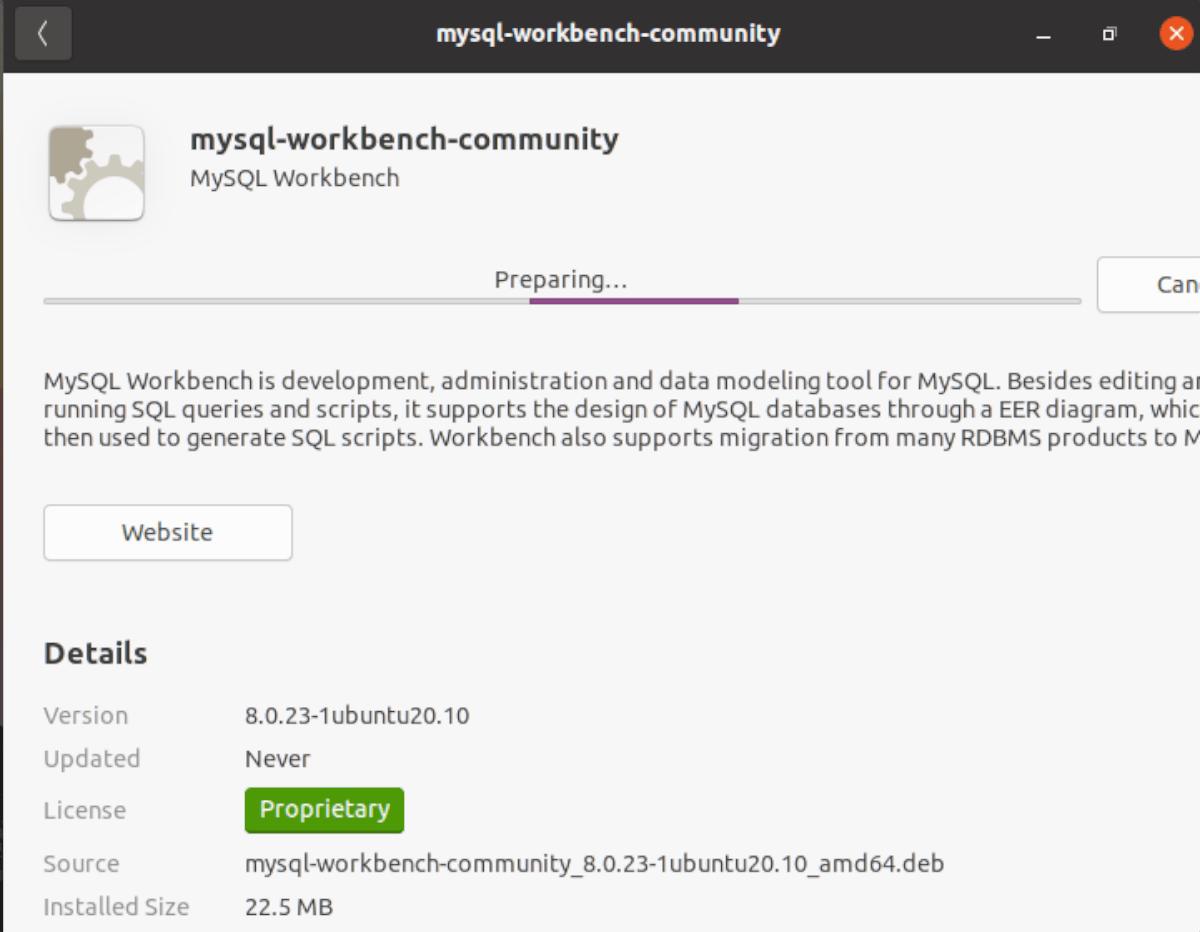how to install mysql workbench on ubuntu 2 How to induct MySQL Workbench on Ubuntu