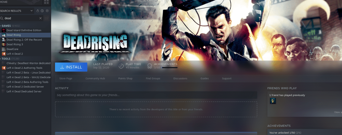 how to play dead rising on linux 3 How to swim Exhaustive Alluvion on Linux