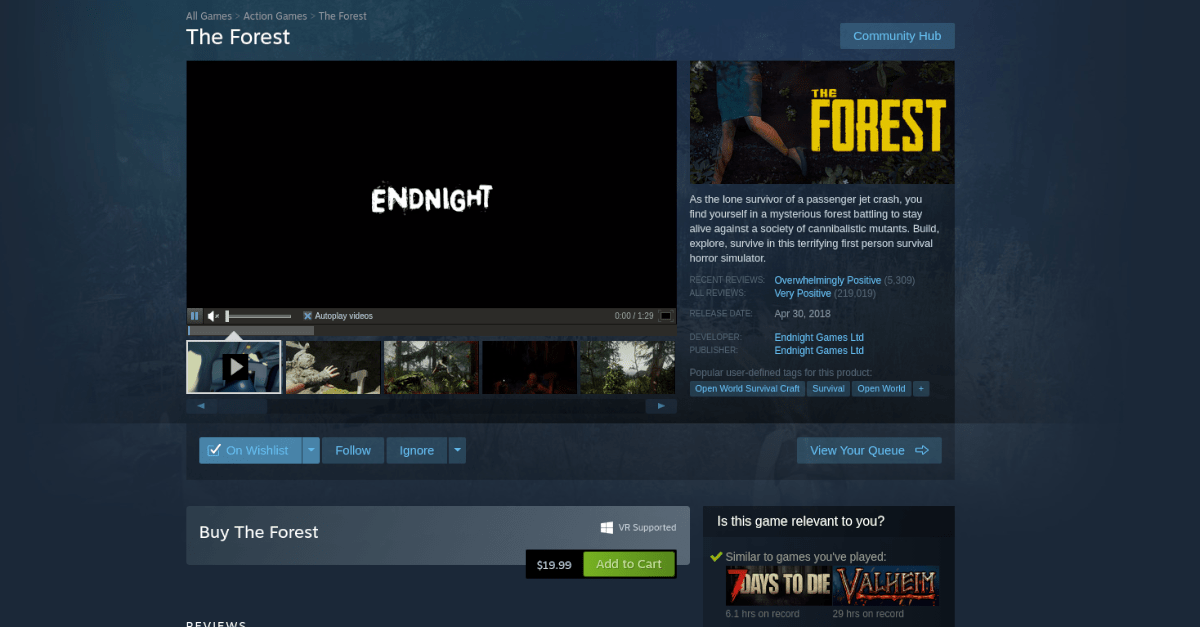 how to play the forest on linux 2 How to excise Dangler Bocage on Linux