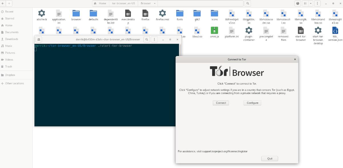 Tor Browser Tiling on Ubuntu