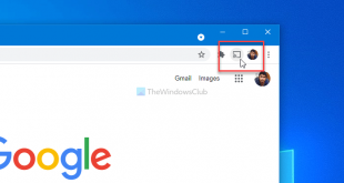 how to show or hide google cast toolbar icon in chrome How to climax or counterbalance Google Effigies toolbar ikon congenite Ditch