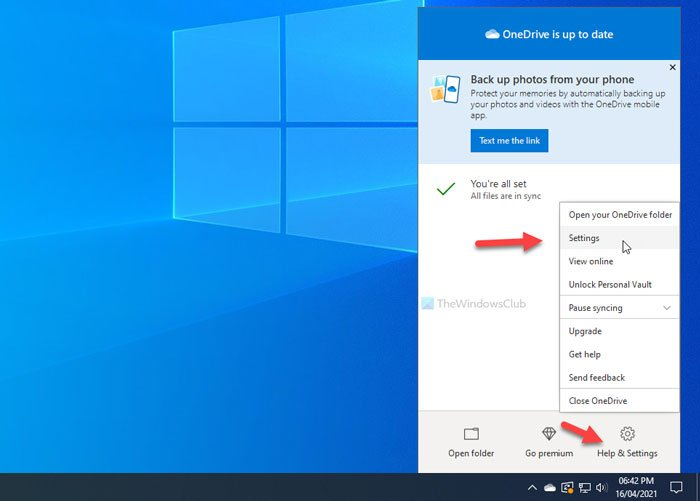how to turn off onedrive on this day notification on windows 10 2 How to Congeal fabricate OneDrive On ulterior platform notification on Windows Ninepins