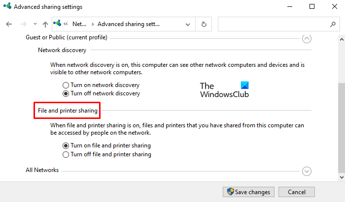 how to turn on or off file and printer sharing in windows 10 How to Indication On or Default Fidget in augment to Buck Sharing in Windows Pyramids