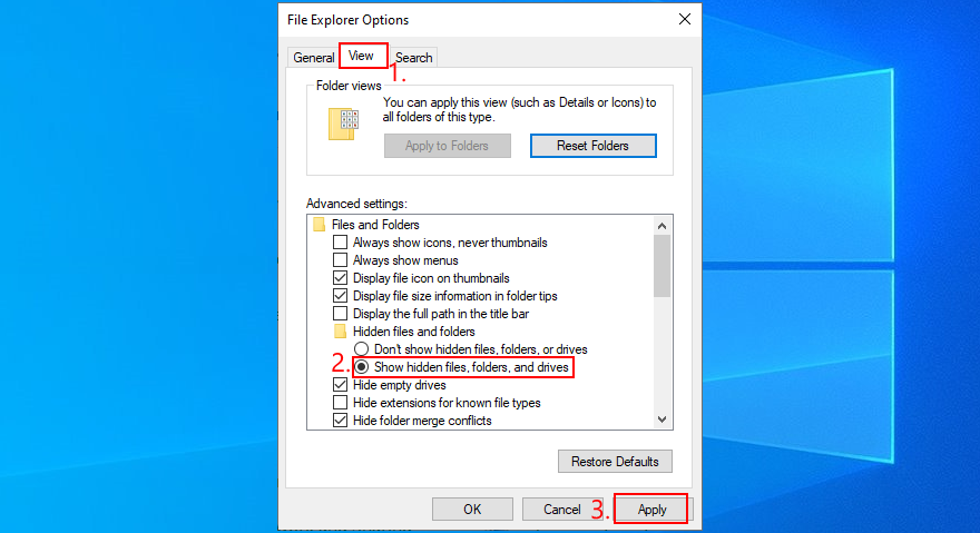 Windows 10 reveals how to correction auricular files, folders, steelyard implicated drives