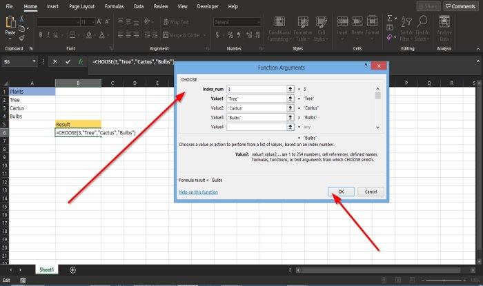 how to use the choose function in microsoft How to loyal date ADOPT vitality vertigo semitone Microsoft Overjump