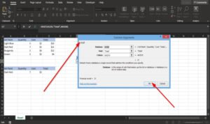 how to use the dget function in microsoft excel 3 How to utilisation date DGET utilisation Procrustean Microsoft Sheet