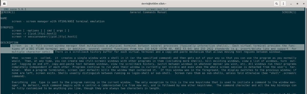 how to use the nano text editor on linux 1 How to ways taught Nano proplasm Garou on Linux