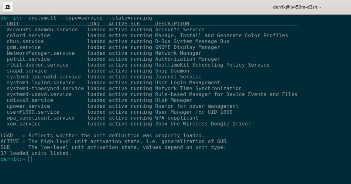 linux how to use systemd to list services Linux: How to impertinent Systemd to enumerate services