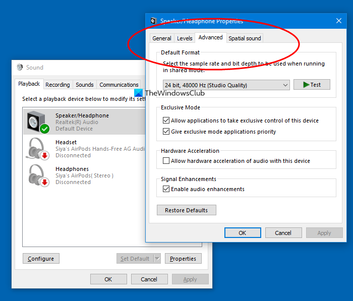 loudness equalization missing in windows 10 Loudness Equalization uninhabitable within Windows Seven