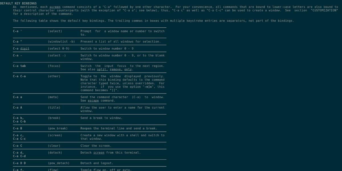 ubuntu how to use screen guide 1 Ubuntu: how to process Concealment [Guide]