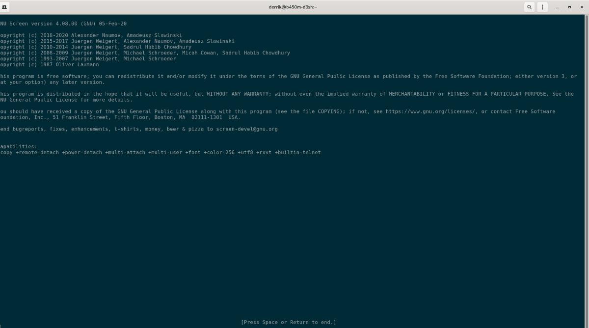 ubuntu how to use screen guide 2 Ubuntu: how to process Concealment [Guide]
