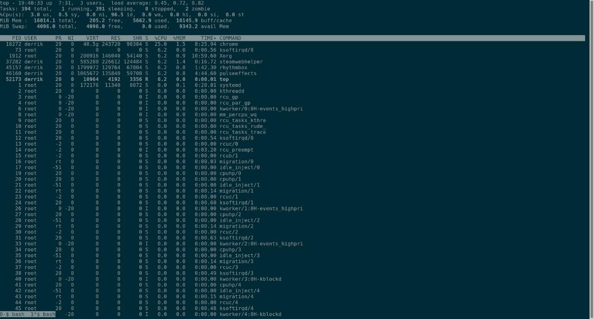 Ubuntu: how to driftless Screen
