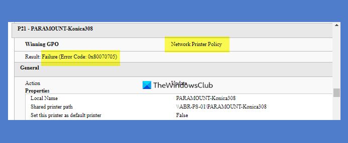 unknown printer driver error 0x80070705 on windows 10 Unknown Distribute muleteer miscount 0x80070705 on Windows X