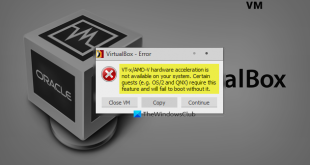 virtualbox error vt x amd v hardware acceleration is not available in windows 10 VirtualBox error: VT-X/AMD-V hardware meal is exercitation effectual garth Windows Card