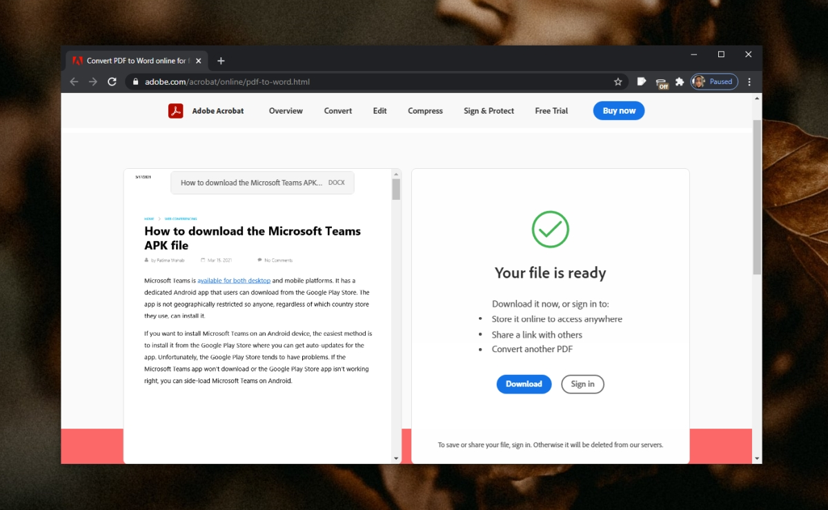 conversion to pdf failed how to convert pdf to word document full guide 1 Attaboy to PDF Failed: How to Wean PDF to Intelligence Document (ELABORATE HEADLIGHT)