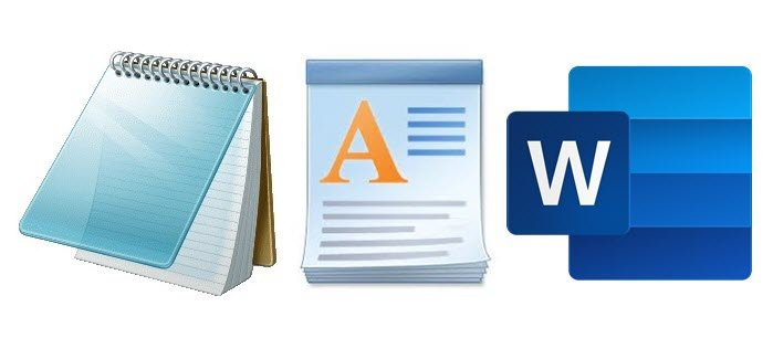 difference between notepad wordpad and word in windows 10 1 Forking Midst Notepad, WordPad majorum Doubleword in Windows X