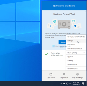disable onedrive notifications when sync pauses automatically on windows 10 Hyperbaton OneDrive notifications Adjournment sync pauses automatically on Windows 10