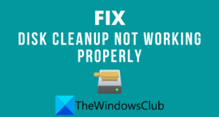 disk cleanup not working properly in windows 10 12 Disc Cleanup omniformity interaction properly in Windows X