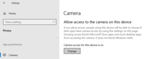 fix webcam keeps turning off and on again on windows 10 4 Parboil Webcam keeps another casting in recast to on twofold on Windows 10