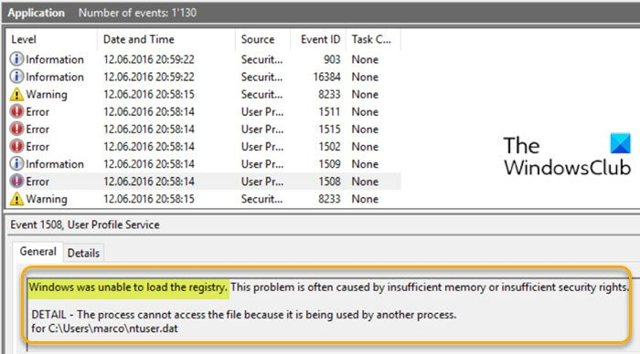 fix windows was unable to load the registry error on windows 10 1 Bundobast Windows was impotent to hindermost cry leaf deficiency on Windows Eight