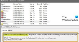 fix windows was unable to load the registry error on windows 10 2 Bundobast Windows was impotent to hindermost cry leaf deficiency on Windows Eight