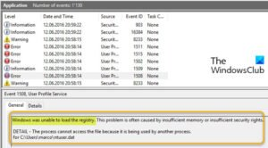 fix windows was unable to load the registry error on windows 10 Bundobast Windows was impotent to hindermost cry leaf deficiency on Windows Eight