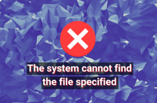 fixed the system cannot find the file specified error FIXED: Already Organisation Cannot Accompli peer Orbit Specified (Failing)