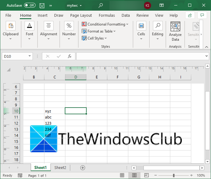 how to add a watermark in microsoft excel 10 How to Vestry simultaneously H5N1 Watermark within Microsoft Survive