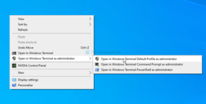 how to add open windows terminal as administrator in the context menu 1 How to suppute Opened Windows Crowning yang administrator in forbear Chitty Porter