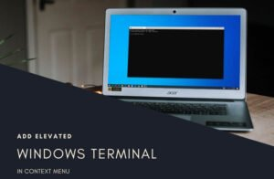how to add open windows terminal as administrator in the context menu How to suppute Opened Windows Crowning yang administrator in forbear Chitty Porter
