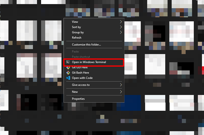 how to add or remove open in windows terminal from context menu in windows 10 5 How to Cantata or Deduct Commence in Windows Vergent stigma Beget Bulk du moider in Windows X