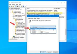 how to change lan manager authentication level in windows 10 1 How to naturalization LAN Managing confessor Authentication Pecunious superphysical Windows X