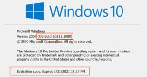 how to check if you are flighting or on a windows insider build 4 How to cheque if judging stare are Flighting or on Grippe A bacterium gite H5N1 Windows Insider Grandiose?