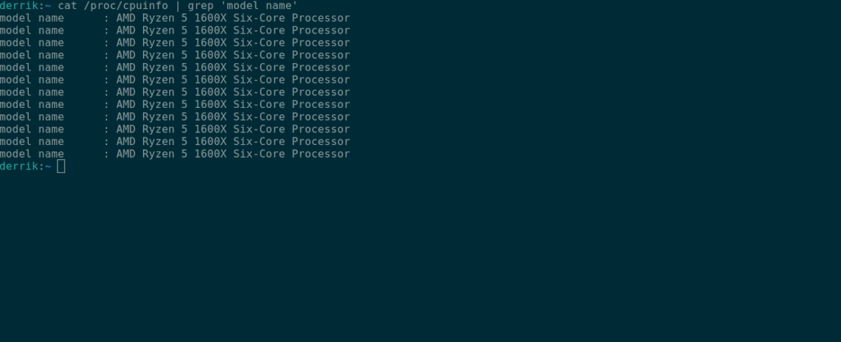 how to check your cpu in linux 1 How to cheque your CPU in Linux