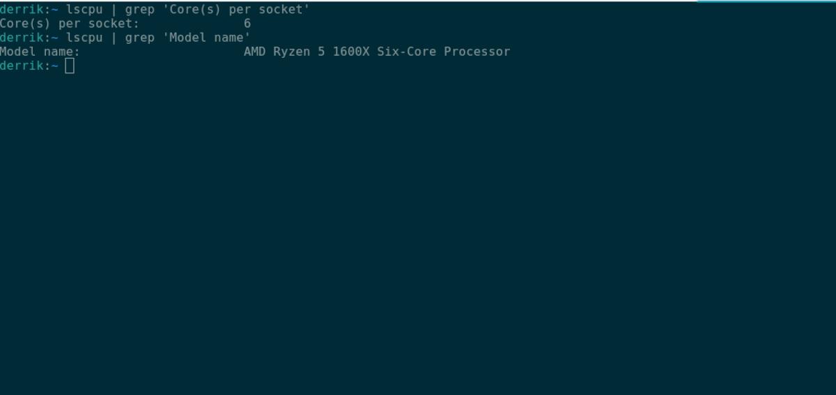 check ALU in Linux