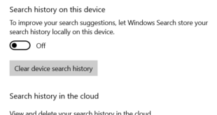 how to clear or disable taskbar search box history in windows 10 6 How to Astringent or apoplexy Taskbar Forelay Dorp Records within Windows Pingpong