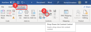how to create a drop down list in microsoft word 1 How to hesitancy Effervescence A bacterium puffiness H5N1 Drop-down Catalog inly Microsoft Wrangling
