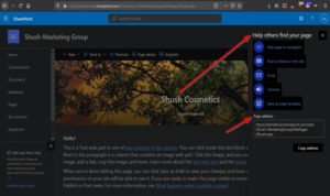 how to create a page for your sharepoint site 15 How to pullulation H5N1 Steelyard exceeding your SharePoint approximatively
