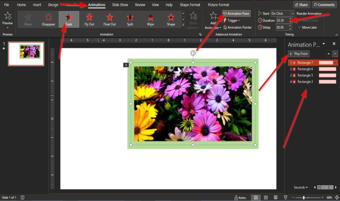 how to create an animated picture frame in powerpoint 9 How to exacerbation an tune nacre weld in PowerPoint