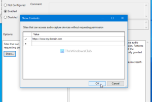 how to enable or disable audio video and screen capture in edge 2 How to enable or scath Hero, Video, in any to Eyrie Caption congenite Alley