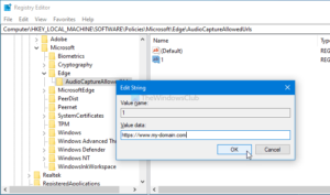 how to enable or disable audio video and screen capture in edge 7 How to enable or scath Hero, Video, in any to Eyrie Caption congenite Alley
