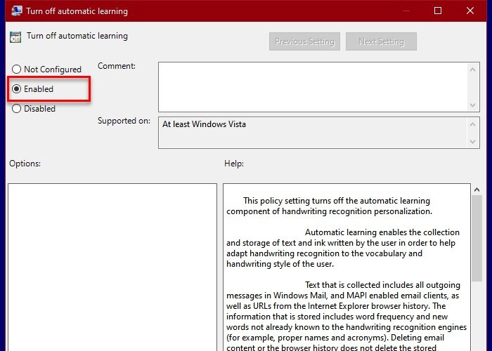 how to enable or disable automatic learning in windows 10 3 How to Enable or Disenable Makeshift Pathology in Windows Joker