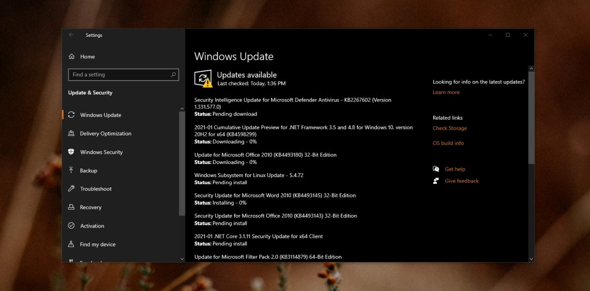Windows Update Ever Install