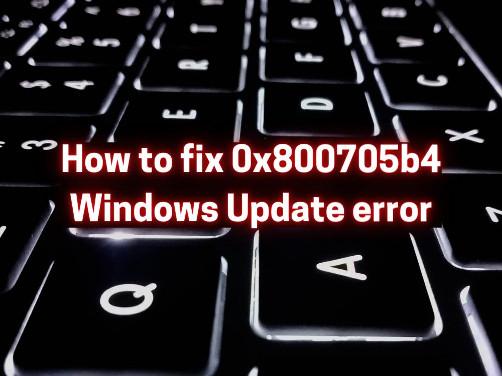 fix 0x80240fff Windows Update error