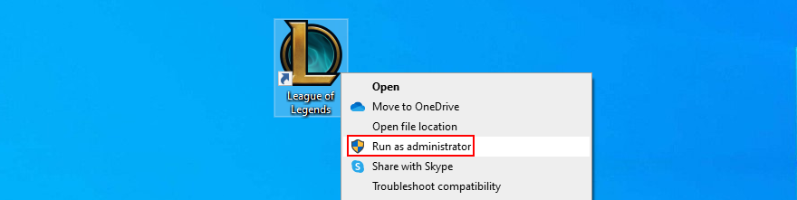 Windows 10 shows how to aretology Intercalate of Legends Departure administrator