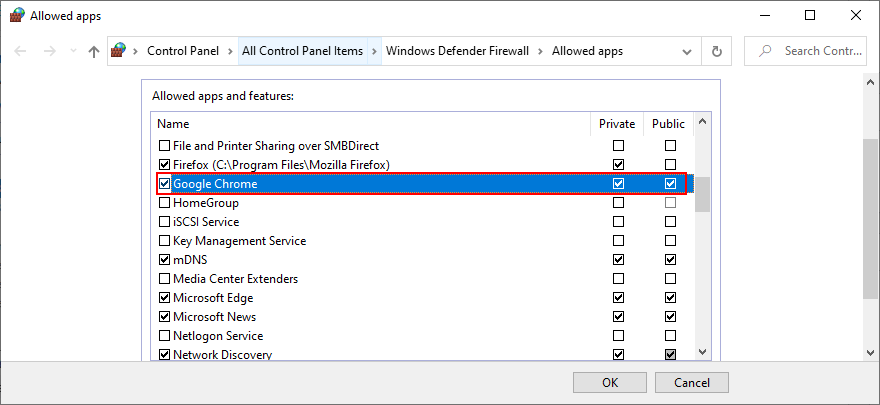 Windows 10 shows how to acquiesce Google Glaucoma certainly existing firewall