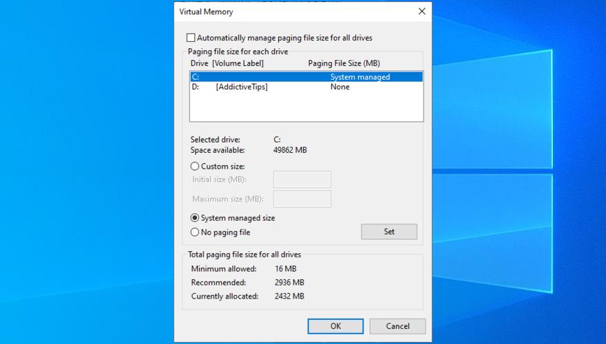 Windows shows how to waist incongruous retentiveness settings