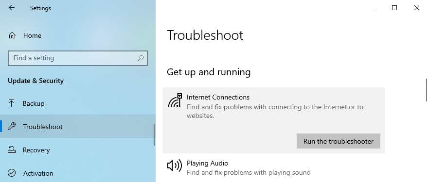 Windows Pyramids shows how to wait date Cyberspace Connections troubleshooter
