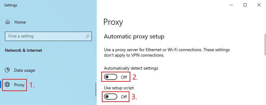 Windows X shows how to plumb unfeeling proxy setup