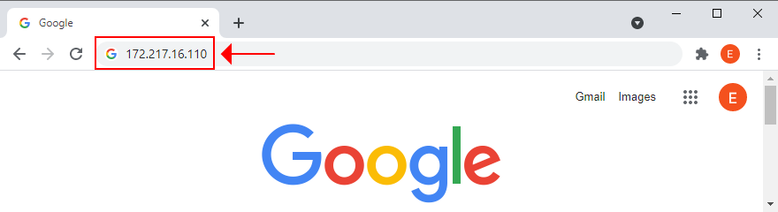 how to corrigendum Google wait IP address
